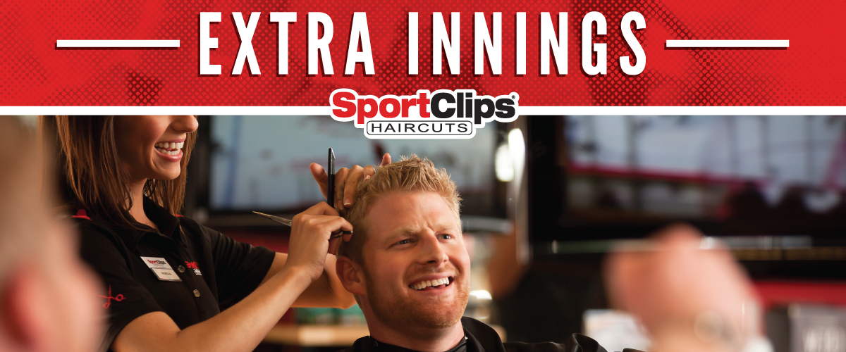 The Sport Clips Haircuts of Fishers  Extra Innings Offerings